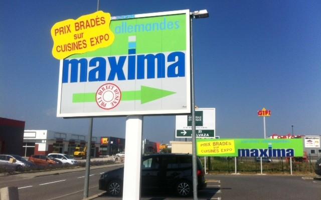Panneau maxima
