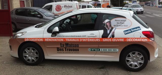 Publicité sur véhicule